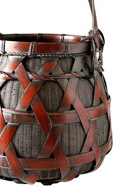 Wada Waichisai; Japanese Bamboo Basket
