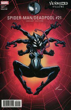 ed mcguinness spiderman deadpool Marvel Comics Art, Marvel Comic Books, Marvel Characters, Comic Books Art, Comic Art, Cosmic Comics, Book Art, Black Spiderman, Spiderman Spider