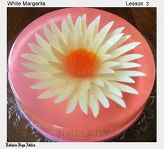 3D gelatin art Jello Cake, Jello Desserts, 3d Jelly Cake, How To Make Jello, Jelly Flower, 3d Art, Food Sculpture, 3rd Birthday, Birthday Cakes
