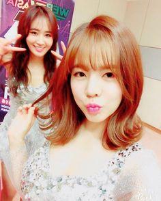 girls generation´s yuri y Sunny