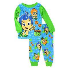 Bubble Guppies Baby Toddler Green Cotton Pajamas (3T) Nickelodeon http://www.amazon.com/dp/B00XPVMYEG/ref=cm_sw_r_pi_dp_VyEzvb0E2DH8Y