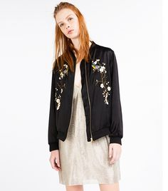 8434941da62 The Bomber Jacket That Zara Can t Keep in Stock