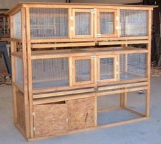 rabbit hutch simple and easy.....think my husband is trying to tell me something