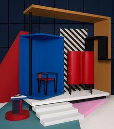 Behance :: Best of Behance Memphis Design, Fire Starters, Adobe Photoshop Lightroom, Photo Projects, Industrial Design, Furniture Design, Behance, Interior Design, Photography