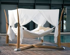 Kokoon Outdoor Bed / Hammock by Royal Botania