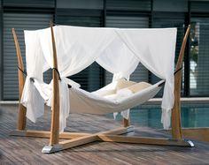 Kokoon Outdoor Bed / Hammock by Royal Botania