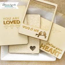 Sprinkled With Love ~ 3x4 Veneer Cards