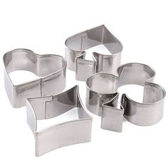 SUMMER SALE 5% off Description:  Poker Stainless Steel Cake Biscuit Pastry Baking Cookies Cutter, Perfect for making cakes, bread, biscuit, cookies, chocolate, etc. It can make your products ... #cookiecutter #silicone #etsy #plaque #frame #fondant #square #rectangle #oval #hearts #spade #club #diamond