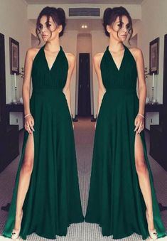 black prom dresses,black evening gown,black bridesmaid dresses Select a the best choice maid-matron of honour Prom Dress Black, Split Prom Dresses, V Neck Prom Dresses, Long Prom Gowns, Gala Dresses, Cheap Prom Dresses, Chiffon Dresses, Long Dresses, Long Halter Dress