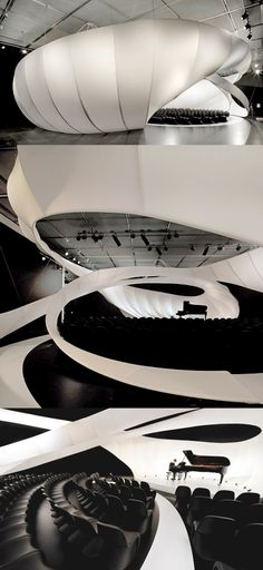 Zaha Hadid chamber music hall in Manchaster