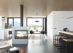 Nordkapp Divider, Dining Table, Ceiling Lights, Room, Furniture, Home Decor, Modern, Bedroom, Decoration Home