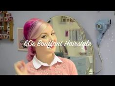 60s Inspired Bouffant Hair Tutorial - With Three Ways To Wear | Diablo Rose - YouTube