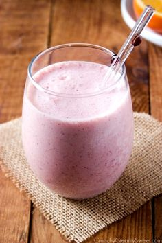 Orange Cranberry Smoothie - my two favorite winter fruits in one fabulous smoothie!