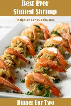 Fish Recipes, Seafood Recipes, Appetizer Recipes, Cooking Recipes, Seafood Appetizers, Baked Shrimp Recipes, Shrimp Dinner Recipes, Shrimp And Scallop Recipes, Quiche Recipes