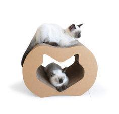 Kittypod cat bed cardboard scratcher