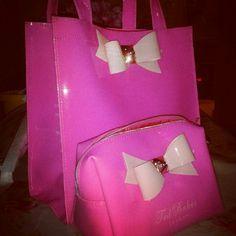 Ted baker bag.. Pink