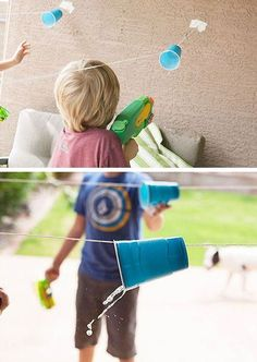 Cup Races Click Pic for 19 DIY Summer Crafts for Kids to Make Easy Summer Activities for Kids Outside Summer Crafts For Kids, Summer Activities For Kids, Crafts For Kids To Make, Summer Diy, Projects For Kids, Games For Kids, Fun Activities, Children Activities, Ramadan Activities