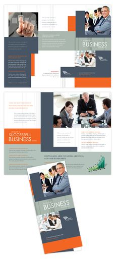Marketing Consultant Brochure Template Design brochure layout - company brochure templates