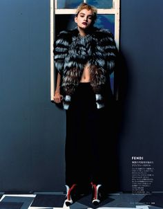 #SoniaGolubkova by #YasutomoEbisu for #ElleJapan September 2013