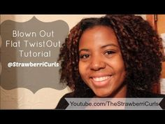 Hey loves! I am so glad to bring you this natural hair tutorial for a twistout. It's a spin on your regular twistout. Instead of using it on unstretched natu...