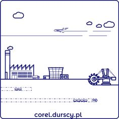 Przemysłowa kraina 1/3 #1 #corel_durscy_pl #durskirysuje #corel #coreldraw #vector #vectorart #illustration #draw #art #digitalart #graphics #flatdesign #flatdesign #icon #przemysł #fabryka #kopalnia #industry #factory #mine #kombajm #tryptyk #triptych #silesia #slask Diagram, Math Equations, Illustrations, Words, Projects, Log Projects, Blue Prints, Illustration, Horse
