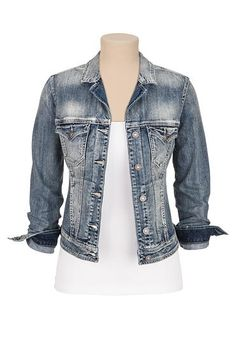17 best images about **Jean Jackets** on Pinterest | Jean jackets ...