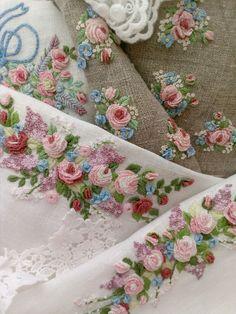 Купить Декоративное полотенце, салфетка с вышивкой - 8 марта, белый, вышивка, объемная вышивка