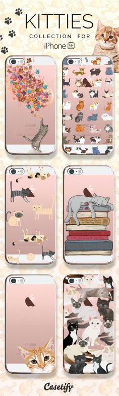 Catastic! Take a look at these designs featuring these aborable kittens on our site now! https://www.casetify.com/artworks/exyeHparrq | @casetify