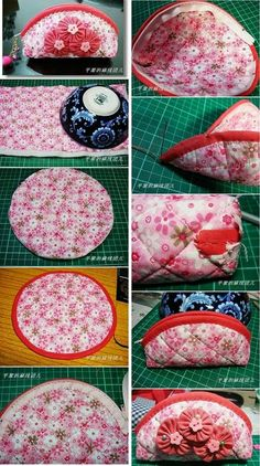 More than 50 Fun Beginner Sewing Projects - Her Crochet Coin Purse Tutorial, Zipper Pouch Tutorial, Sewing Hacks, Sewing Tutorials, Sewing Crafts, Sewing Tips, Diy Bags Patterns, Sewing Patterns Free, Pattern Sewing
