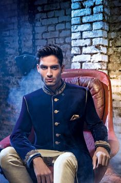 Asian/Indian Wedding Groom Sherwani Suit