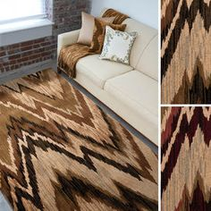 Meticulously Woven Elberton Chevron - Overstock™ Shopping - Great Deals on 5x8 - 6x9 Rugs