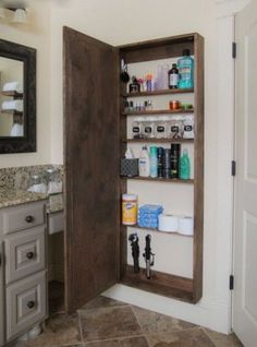I Just Love Tiny Houses!: Small Space Living Idea - Mirrored Cabinet