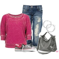 """""""converse"""" by fluffof5 on Polyvore"""