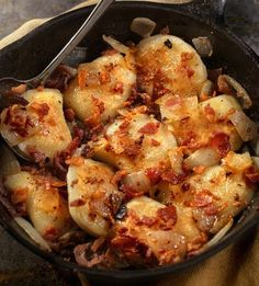 This recipe for Polish potato dumplings uses a combination of raw, grated potatoes, and cooked, mashed potatoes in the dough.