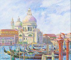 La Mariage des Gondoles, Venise by Pissaro