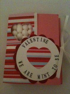 Valentines Tic Tac Holder