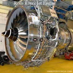 Rolls Royce Jet Engine.