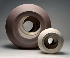 Matthew Chambers: 2 Eclipse forms - 2Face series – Ceramics Now
