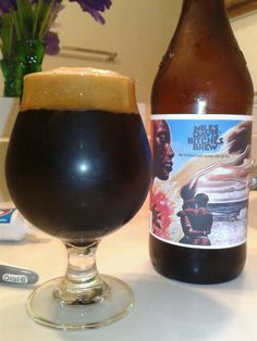 Dogfish Head Miles Davis - Bitches Brew.  Imperial Stout.