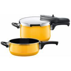 Sicomatic t-plus Duo 4,5+3l Crazy Yellow : Pressure cooker : silit