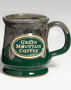 Green Mountain Coffee® Artisan Mug..would love to have one of these!