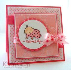 carte bébé fille