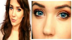 How to make blue eyes POP! I love her videos, they are very helpful!