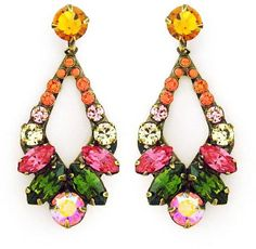Sorrelli Juicy Fruit Earrings #jewelry #earrings #style #crystal