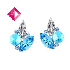 Aliexpress.com : Buy Neoglory Jewelry fashion earrings with Swarovski element crystal earring platinum plated earring water drop Christmas gift from Reliable earrings suppliers on NEOGLORY JEWELRY