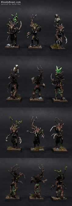 Wood Elf Dryads Closeups