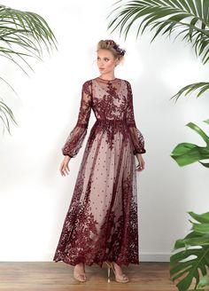 Vestidos de Fiesta Matilde Cano ¡nueva colección 2017! - Vestidos de fiesta, vestidos para boda, Vestido romántico tull plumeti