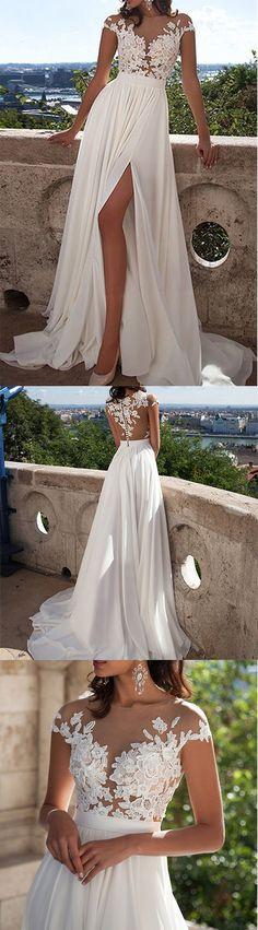 Sleeveless Chiffon Prom/Evening Dress,Sexy Chiffon Prom Dress,Cheap ...