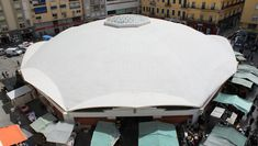 Eduardo Torroja y Miret – was a Spanish architect and engineer, notable as a pioneer in the design of concrete-shell structures. Contemporary Architecture, Architecture Design, Unit Of Area, Market Hall, Shell Structure, Islamic Center, Reinforced Concrete, Cadiz, Three Dimensional