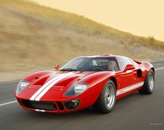 Ford GT 40... I'd like one of these